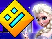Elsa Frozen Geometry Dash