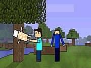 2 Friends Play Minecraft