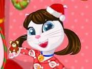 Angela Pijamada de Navidad