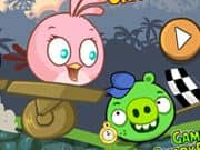 Juego Angry Birds Crazy Racing
