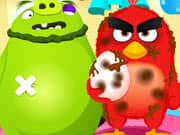 Juego Angry Birds Meet Red Nurse