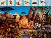 Juego de Animals Hidden Objects