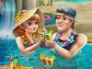 Anna Frozen Celebracion en la Piscina