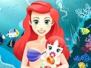 Sirenita Ariel Nacimiento de su Bebé