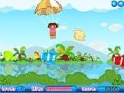 Aventura de Dora en paracaidas