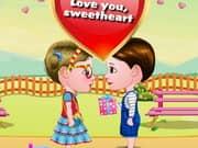 Baby Hazel And Liam Valentines Day