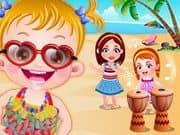 Baby Hazel Beach Party