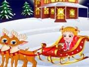 Baby Hazel Esperando Navidad