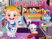 Baby Hazel Fiesta de Mascotas
