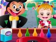 Baby Hazel In Disneyland