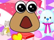 Juego Baby Pou Room Decoration