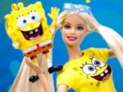 Barbie amor a Bob Esponja