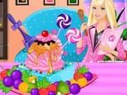 Barbie Ice Cream Decorating