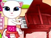 Bebe Angela Toca Piano