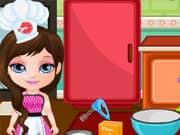 Bebe Barbie haciendo Pizas