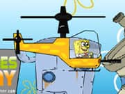 Bob Esponja Helicoptero