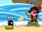 Juego Bomb the Pirate Pigs