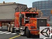 Camion Americano en 3D