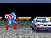 Juego Capitan America Car Demolition