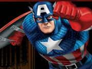 Capitan America Carabelas Rojas