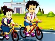 Carrera de Bicicletas a la Escuela
