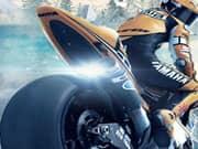 Carrera de Motos en el Hielo 3D