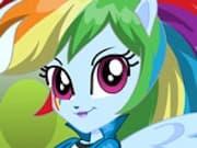 Chica Equestria Rainbow Dash