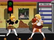 Chicas Bacugan en Combate