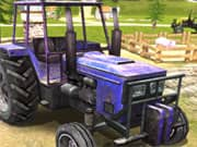 Conducir un Tractor en la Granja