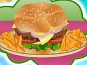 Cooking Big Burger
