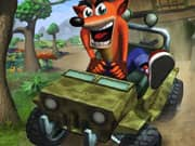 Juego de Crash Bandicoot Jeep Ride