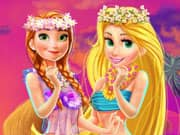 Juego Disney Princesses Hawaii Shopping