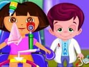 Dora At Eye Clinic