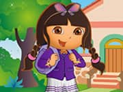 Juego de Dora At School Dress Up