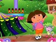 Dora At Theme Park
