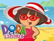 Juego Dora Beach Dress Up