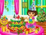 Dora Christmas Cake