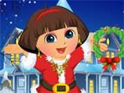 Dora Christmas Dressup