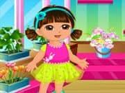 Dora Diversion en la Tienda de Flores