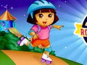 Dora en Patines