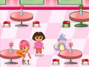 Juego Dora la Exploradora Restaurante Familiar