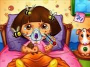 Dora Picada por las Abejas