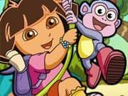 Dora y Boots Buscando Tesoros