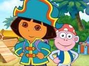 Doras Pirate Boat Treasure Hunt