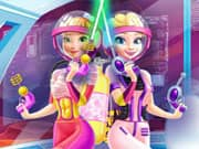 Juego Elsa and Anna Frozen Landing on Mars