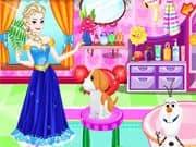 Elsa Frozen Adopta una Mascota