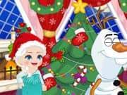 Elsa Frozen Bromas de Navidad