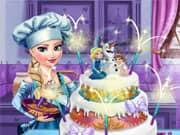 Elsa Frozen Cake para la Boda