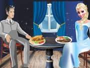 Elsa Frozen Cena Romantica
