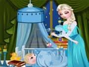 Elsa Frozen Cuidado del Bebe